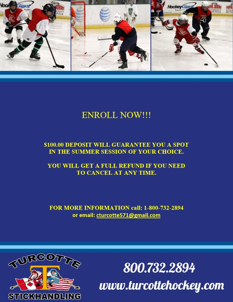 Turcotte Stickhandling Hockey School